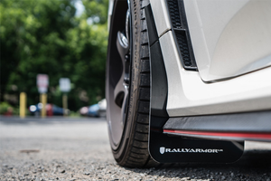 Rally Armor Red Mud Flap - Honda Civic Type-R FK8 - Kaiju Motorsports