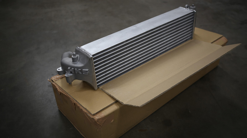 HKS Intercooler (With Piping)- Honda Civic Type-R FK8 - Kaiju Motorsports