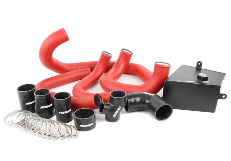 Perrin Boost Tube Kit (Red)- Subaru WRX VA