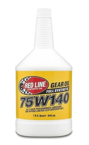 Red Line 75W140 Gear Oil - Quart