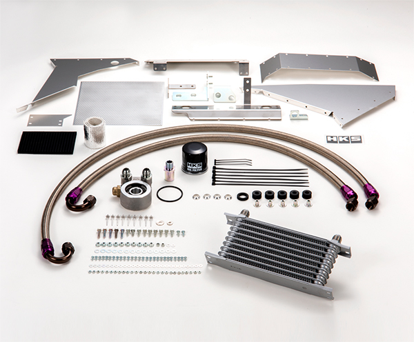 HKS Oil Cooler Kit- Honda Civic Type-R FK8 - Kaiju Motorsports