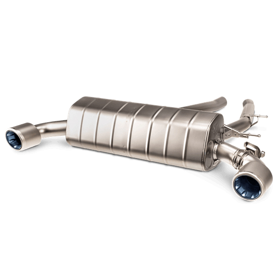 Akrapovic Slip-On Line Exhaust System - Supra A90