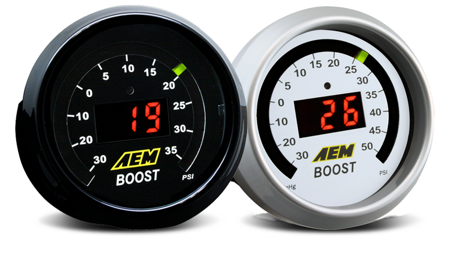 AEM Boost Digital Gauge - 52mm