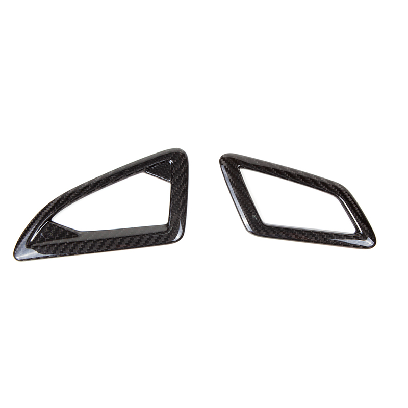 Revel GT Dry Carbon Defroster Garnish - Honda Civic Type-R FK8 - Kaiju Motorsports