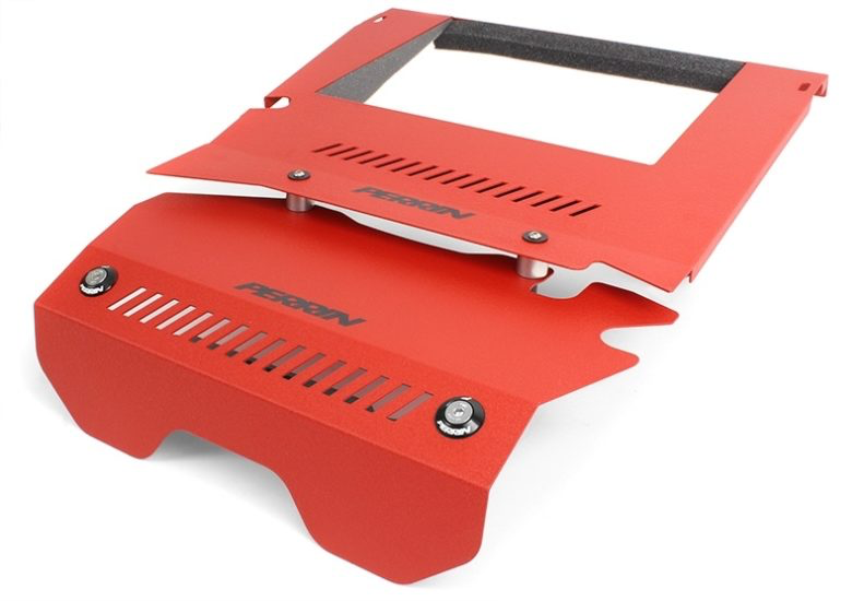 Perrin Intercooler Shroud (Red) - Subaru WRX VA