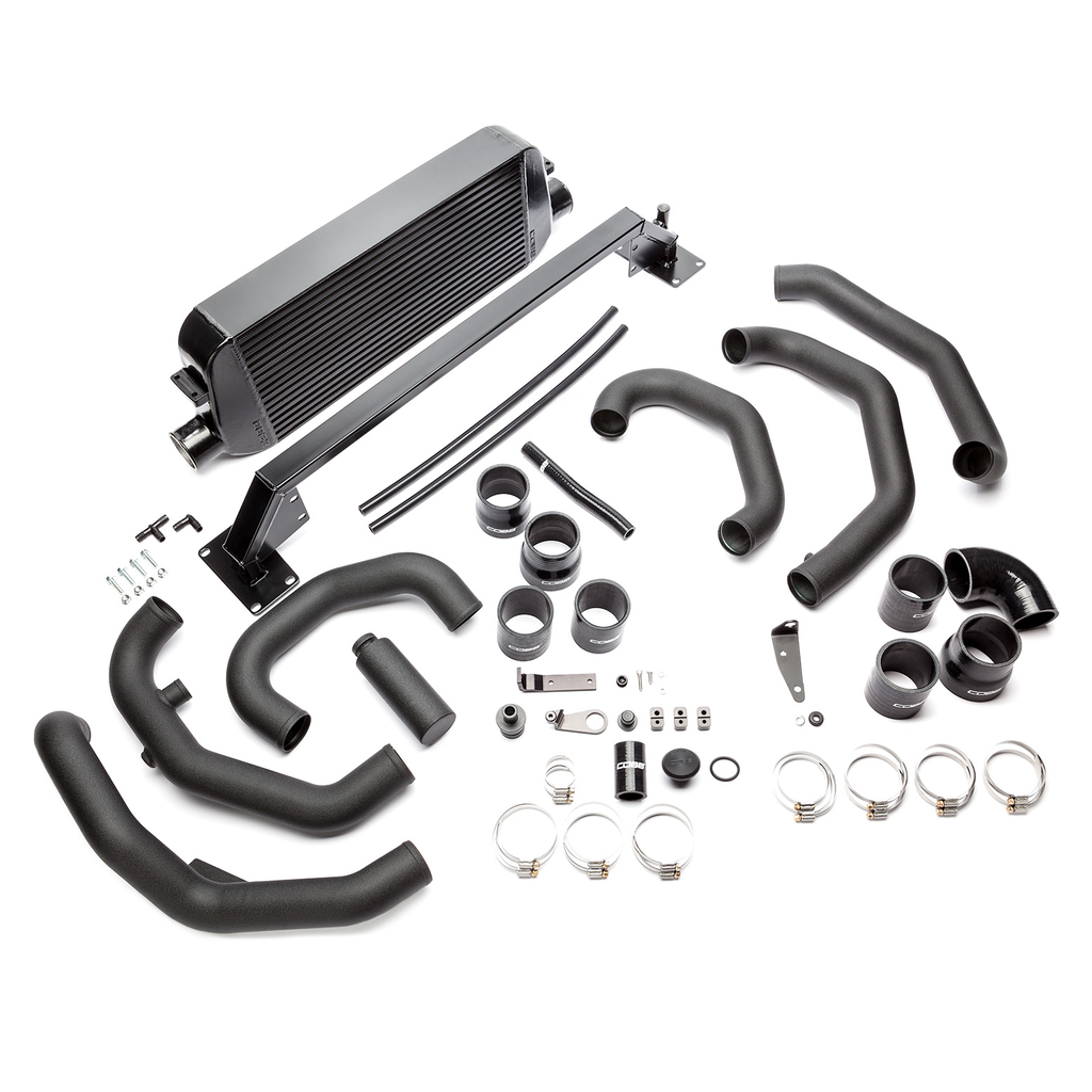 Cobb Tuning Subaru Front Mount Intercooler Kit (Black) - Subaru STI VA