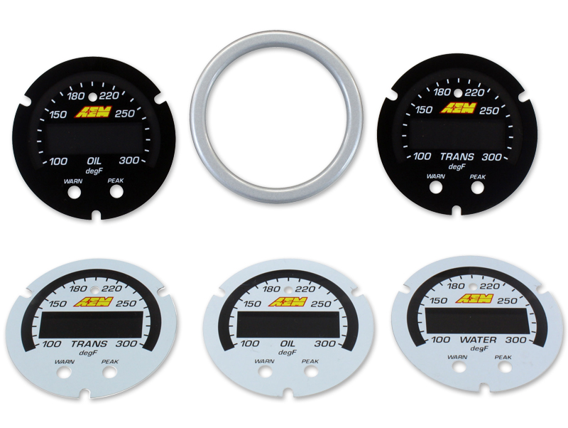 AEM X-Series Temp Gauge Accessory Kit - Kaiju Motorsports