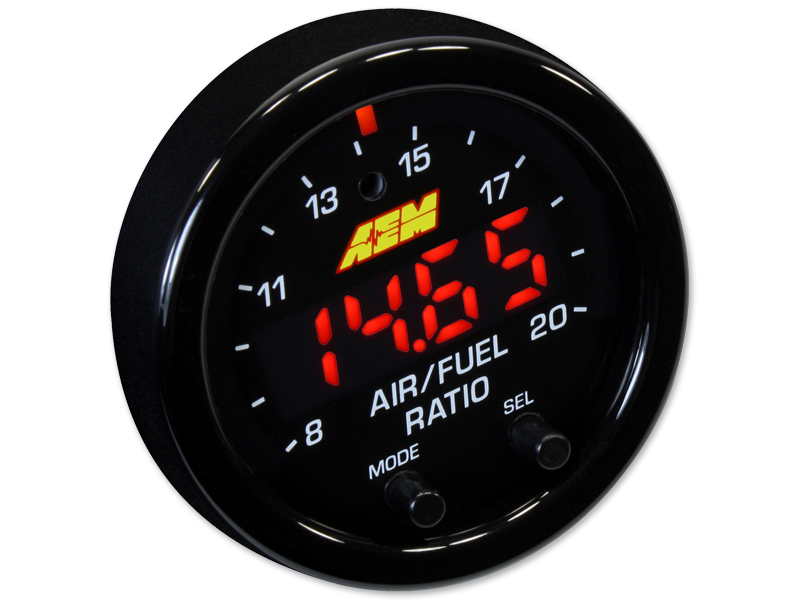 AEM X-Series Wideband AFR Gauge w/OBDII Connectivity - 52mm