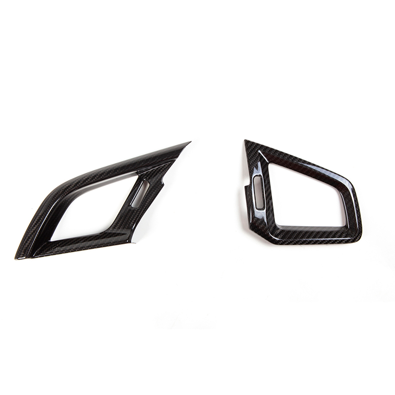 Revel GT Dry Carbon A/C Vent Covers - Honda Civic Type-R FK8