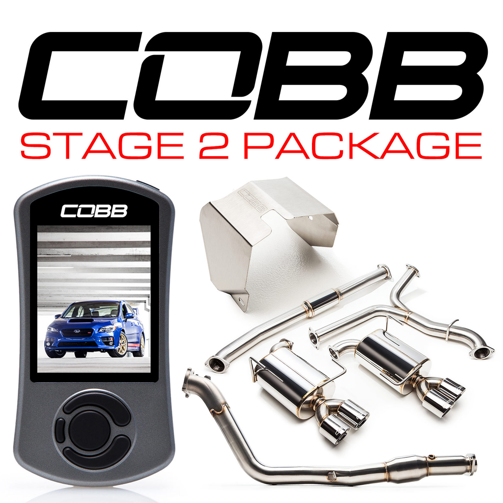 Cobb Tuning Subaru Stage 2 Power Package STI - Subaru STI VA - Kaiju Motorsports