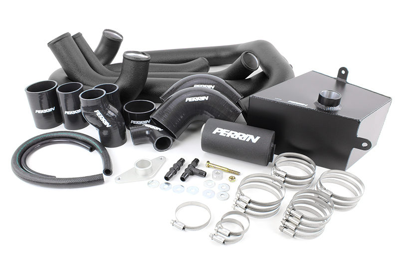 Perrin Boost Tube Kit (Black)- Subaru STI VA