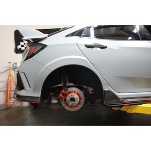Rolloface 2 Piece Replacement Rotors (Rear) - Honda Civic Type-R FK8 - Kaiju Motorsports