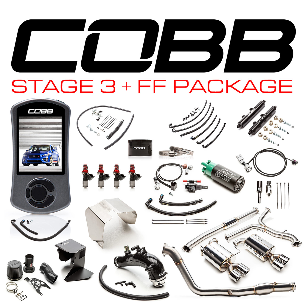 Cobb Tuning Subaru Stage 3 + Flex Fuel Power Package STI - Subaru STI VA - Kaiju Motorsports