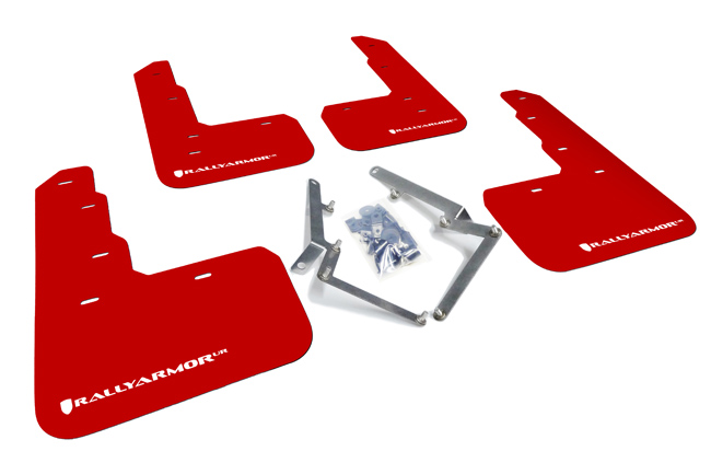 Rally Armor Red Mud Flap - Honda Civic Type-R FK8