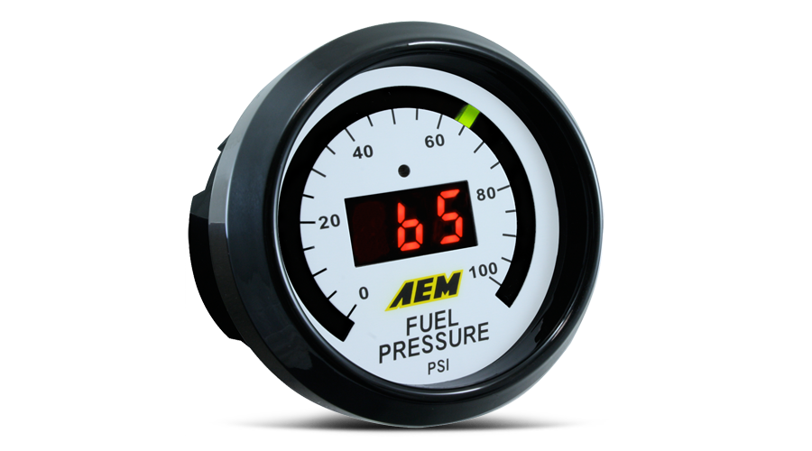 AEM Fuel Pressure Digital Gauge - 52mm - Kaiju Motorsports