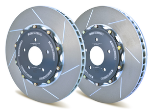 Girodisc Rear 2-piece Rotors (Rear) - Honda Civic Type-R FK8 - Kaiju Motorsports