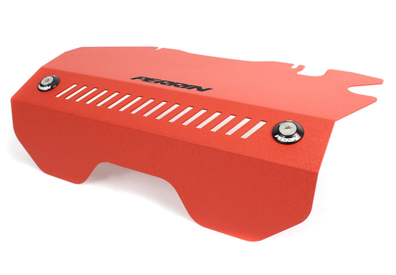 Perrin Pulley Cover (Red) - Subaru WRX VA