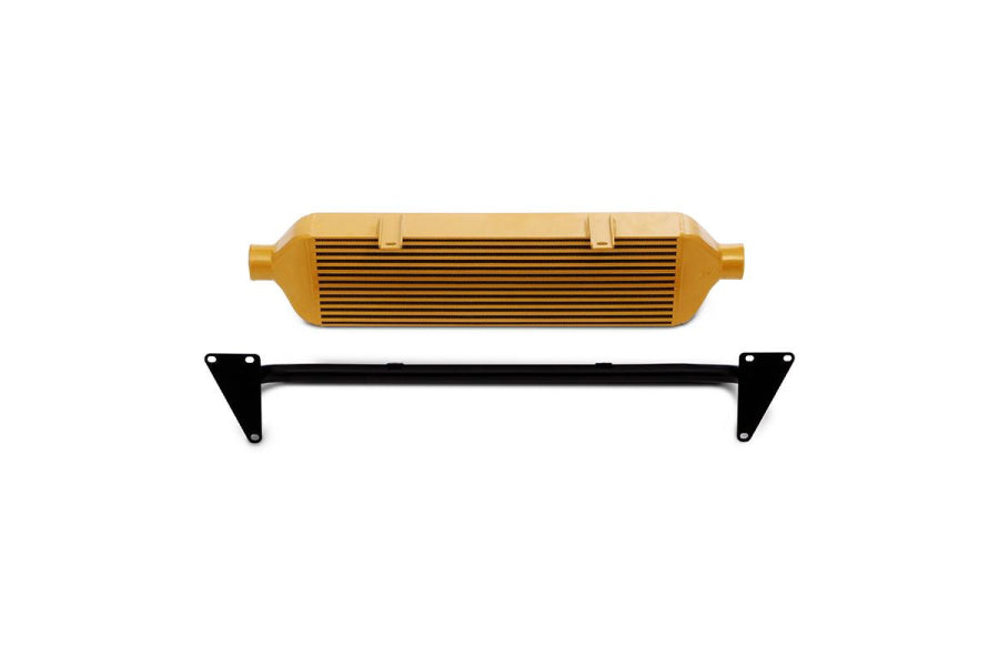 Mishimoto Front Mount Intercooler and Crash Beam (Gold) - Subaru STI VA - Kaiju Motorsports