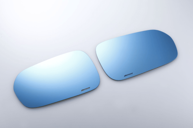 Spoon Blue Wide Mirror Set - Honda Civic Type-R FK8 - Kaiju Motorsports
