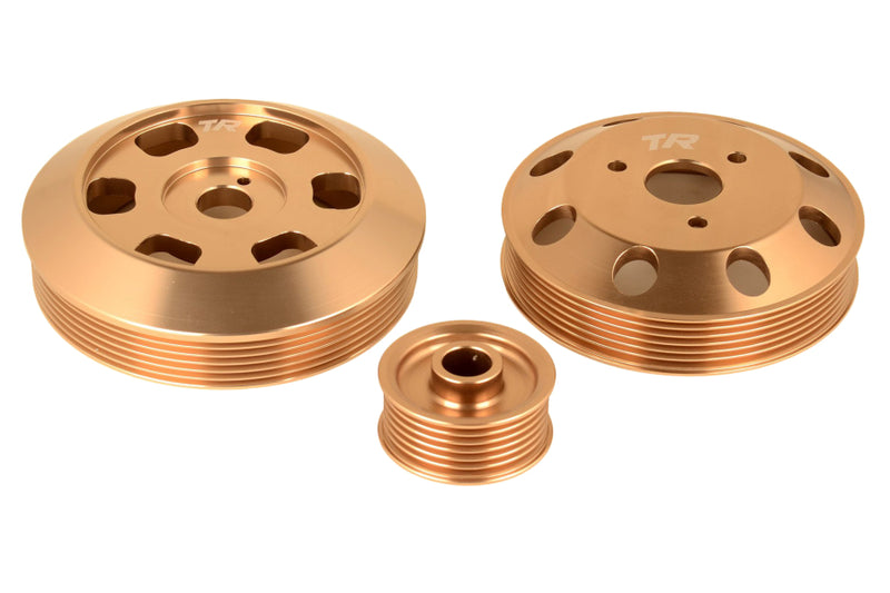 Tomioka Racing Lightweight Pulley Set - FRS/BRZ/86