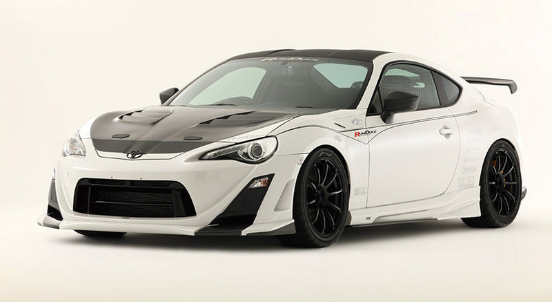 VARIS Arising-II Side Skirts - Carbon (2012-2019) FRS/BRZ/86 - Kaiju Motorsports