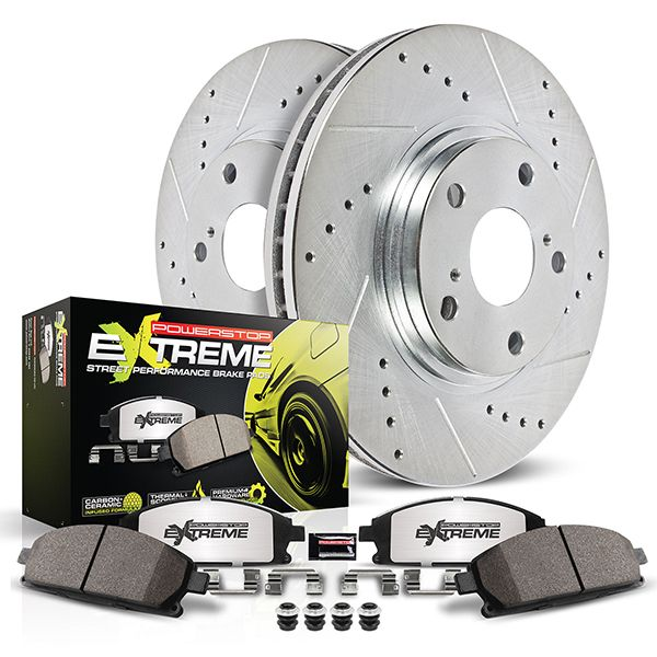 Power Stop Z26 Street Warrior Brake Kit Rear - FRS/BRZ/86
