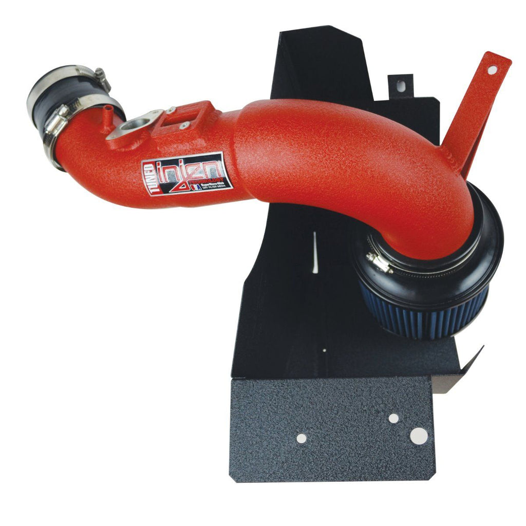 Injen Short Ram Air Intake System (Wrinkle Red) - Honda Civic Type-R FK8