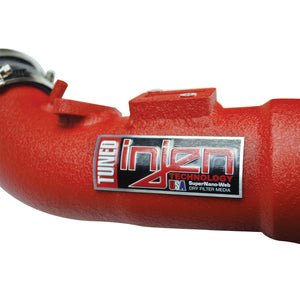 Injen Short Ram Air Intake System (Wrinkle Red) - Honda Civic Type-R FK8 - Kaiju Motorsports