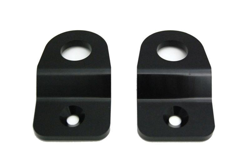 Torque Solution Radiator Stay Brackets (Black) - Subaru WRX / STI VA - Kaiju Motorsports