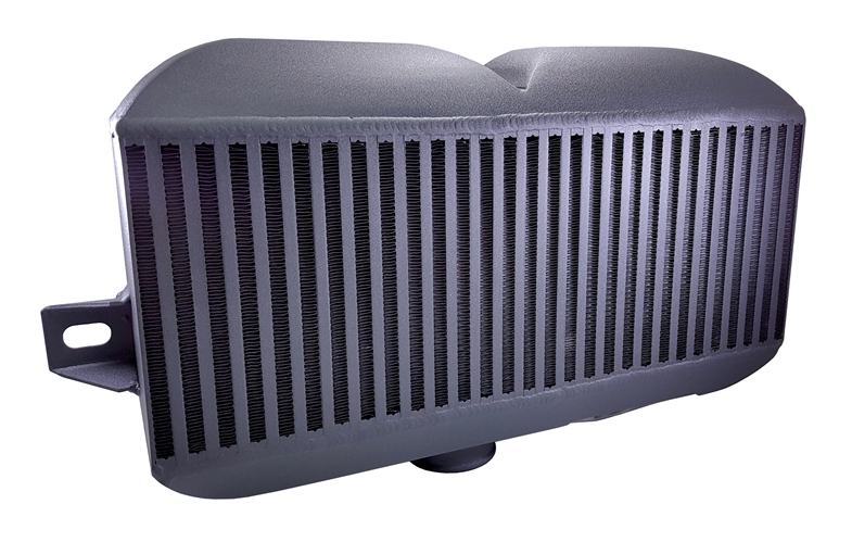 Torque Solution Top Mount Intercooler (Black) - Subaru WRX STI VA - Kaiju Motorsports