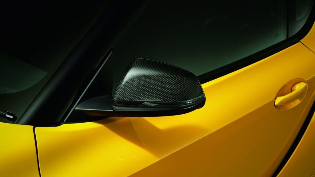 Toyota TRD Carbon Fiber Mirror Covers - Supra A90