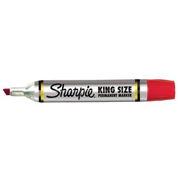 Sharpie, King Size Rød 12pk