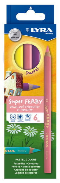 Fargeblyant, Super Ferby 6 Pastell