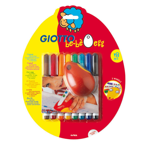Giotto be-be EGG m/8 fiberpenner