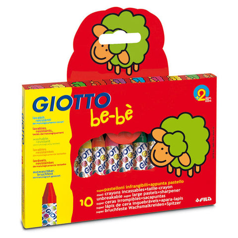 Giotto be-be waxkritt 10 pk