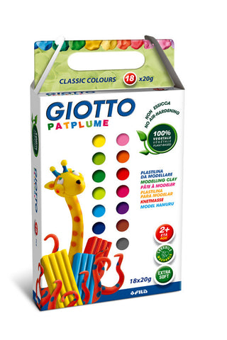 Giotto Patplume 18 farger