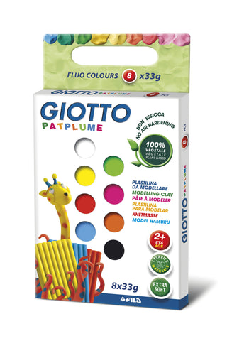 Giotto Patplume 8 farger