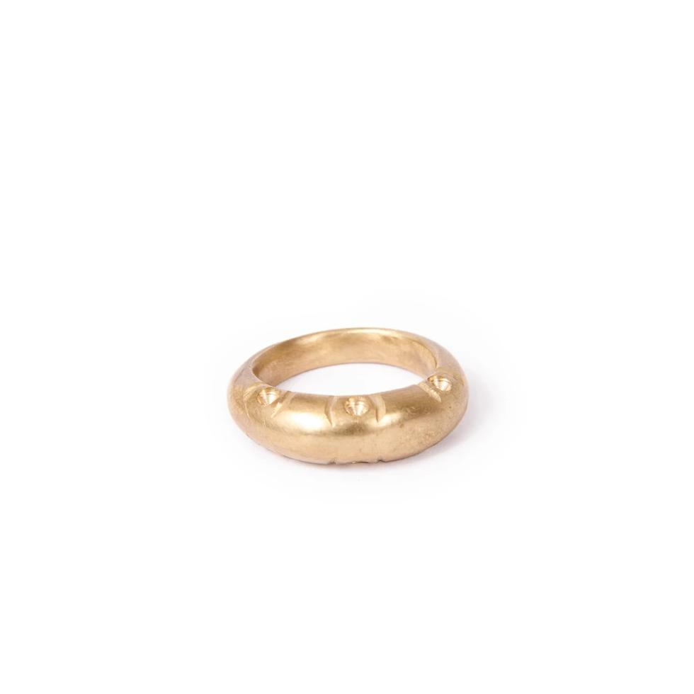 Virgika Brass Ring - Seringa