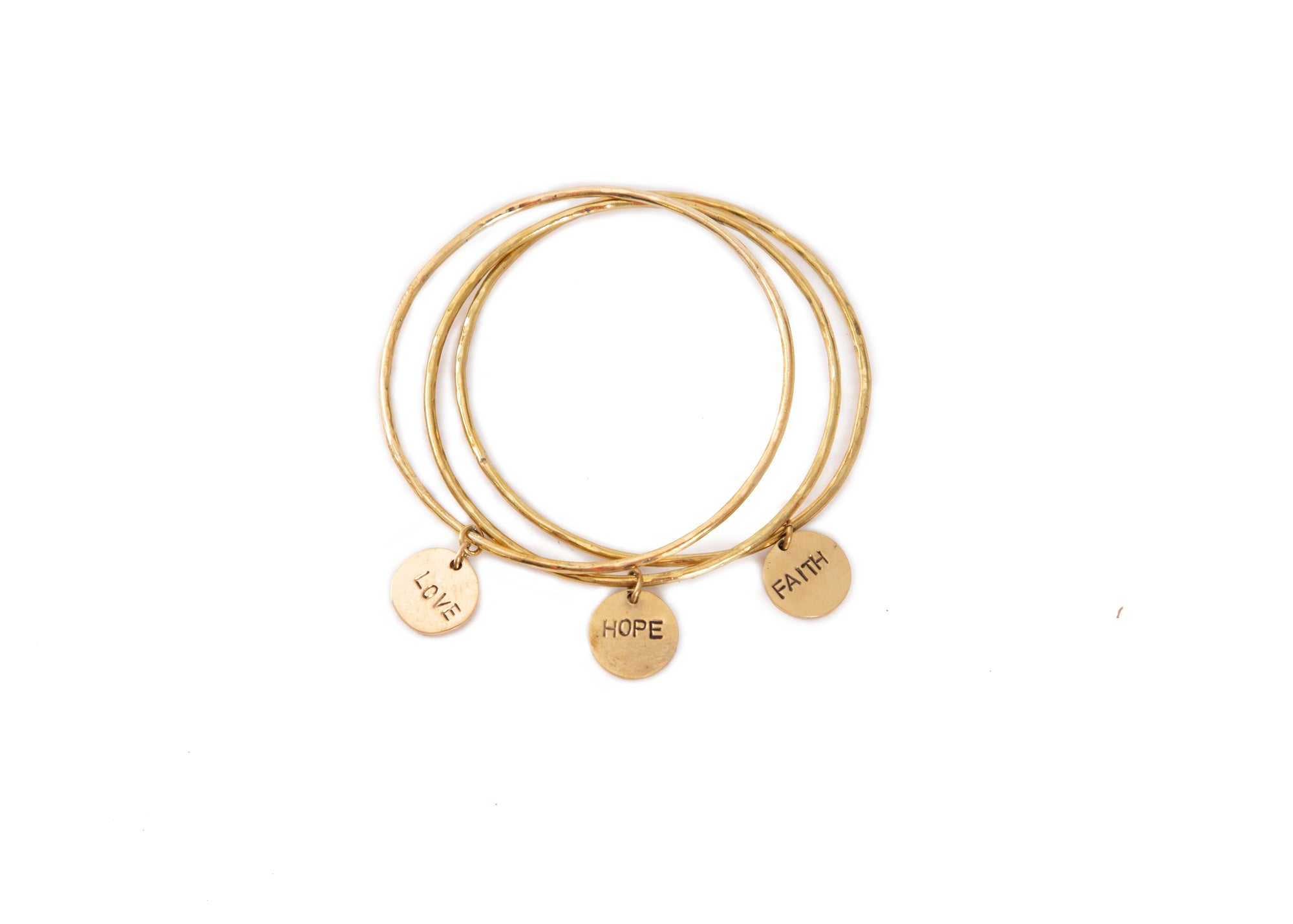 Love, Faith, Hope Bracelet