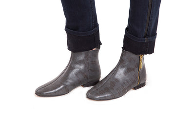 Paula Leather Ankle Boot