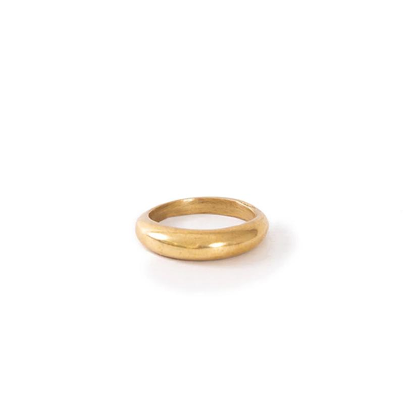 Virgika Brass Ring