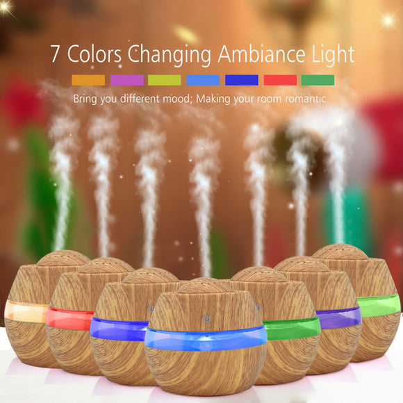 LED Ultrasonic Aroma Aromatherapy Humidifier