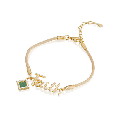 Faith Shiny Bracelet