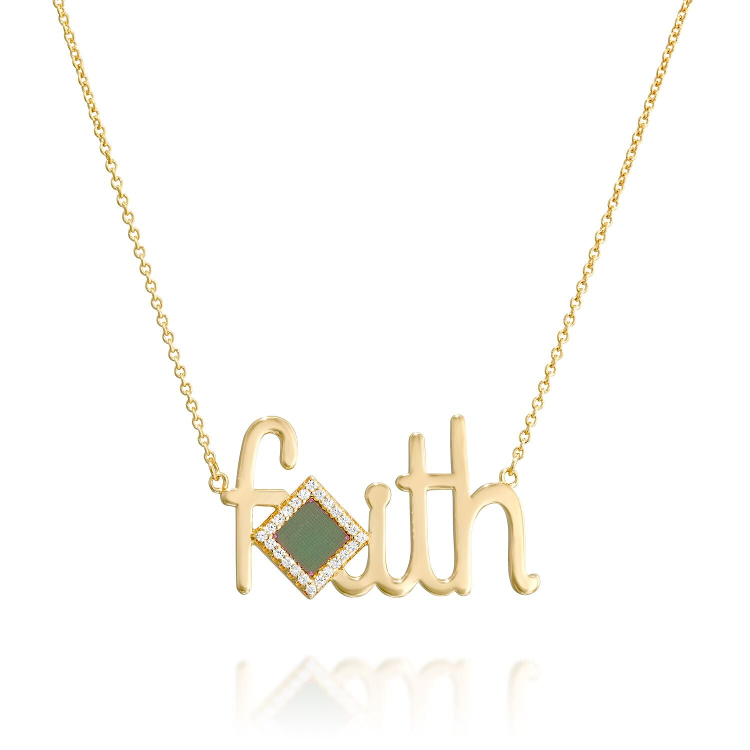 Faith Shiny Necklace