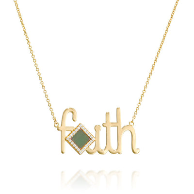 Faith Shiny Pendant