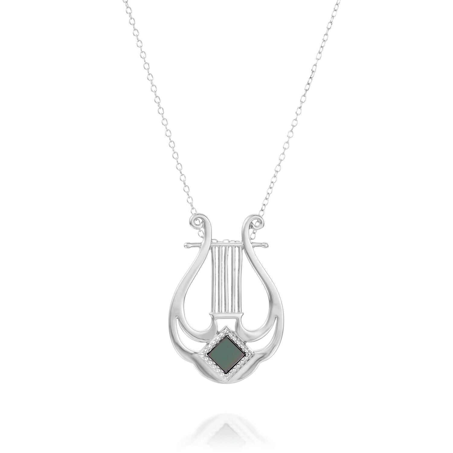 Harp of David Necklace