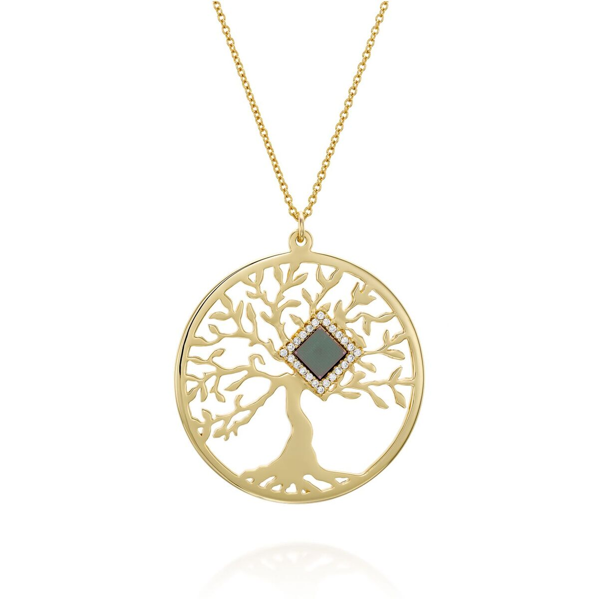 Shiny Tree of Life Necklace