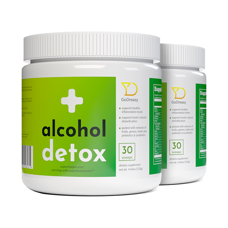 Alcohol Detox Greens - 2 Bottles