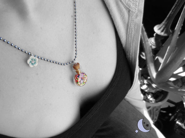 Silvery Necklace