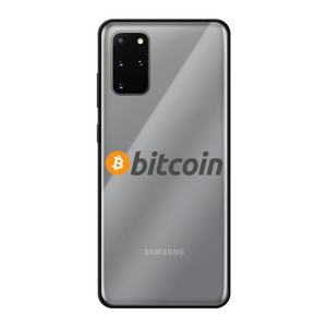 👕 Bitcoin Text Logo Back Printed Black Soft Phone Case - Best Bitcoin Shirt Shop für Deutschland, Österreich, Schweiz. Top Qualität, 3-5 Tage geliefert und Krypto, Paypal Zahlung